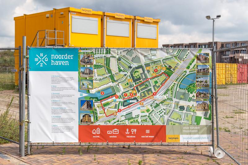 Informatiebord Noorderhaven