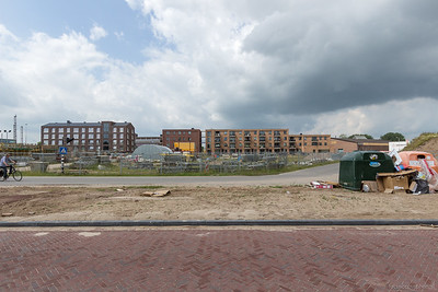 Opslagterrein Heijmans en Het Blokhuys en De Bres
