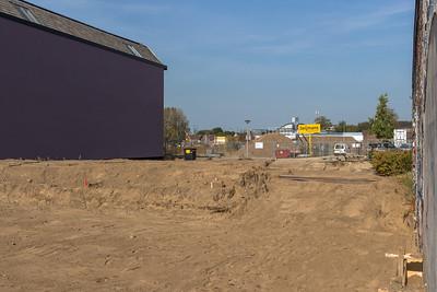 De bouw is begonnen