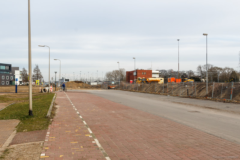 Oude NS P+R afgesloten