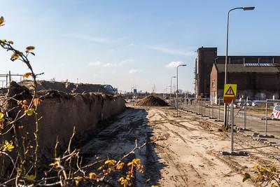 De muur wordt verwijderd