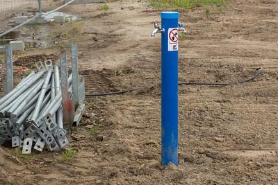 Watervoorziening aangelegd
