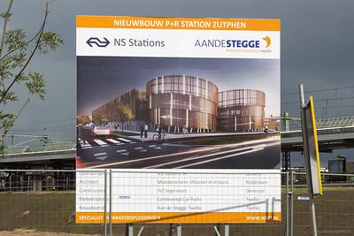 Nieuwbouw P+R Station