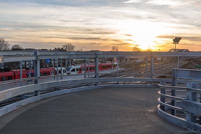 NS-station en IJsselbrug