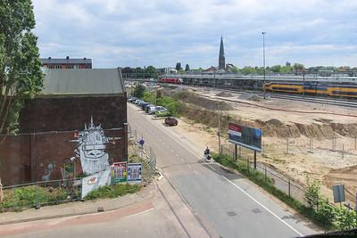 Parkstraat en locatie parkeergarage Noorderhaven