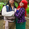 Captain Jack Sparrow and Ariel