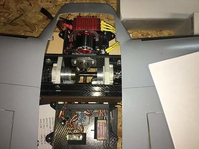 Drive Motor, ESC, Main Gearing & Electronics
