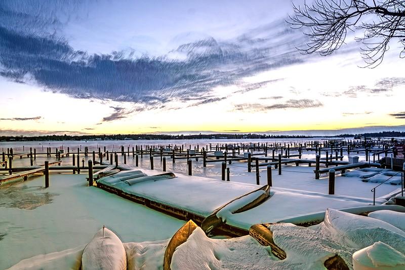 Sunset Lake Minnetonka