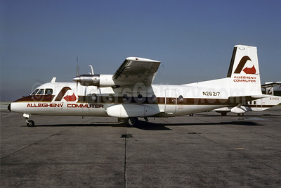 Allegheny Commuter-Ransome Airlines Nord 262A-12 N26217 (msn 24) PHL (Bruce Drum). Image: 103196.