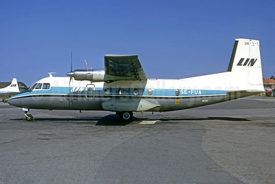 LIN (Linjeflyg) Nord 262A-26 SE-FUA (msn 69) BMA (Jacques Guillem Collection). Image: 939568.