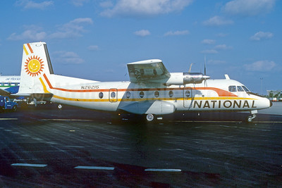 National Commuter Airlines Nord 262A-44 N26215 (msn 23) MIA (Bruce Drum). Image: 102735.