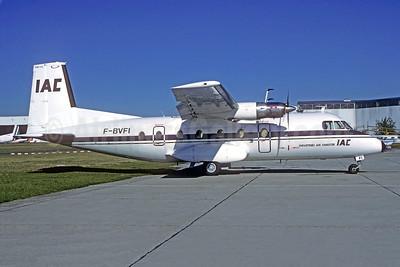 IAC-Industries Air Charter Nord 262A-12 F-BVFI (msn 14) LBG (Christian Volpati). Image: 950819.