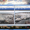 Screen Shot....2 of 3 live webcams at Salmon Bay Marina....