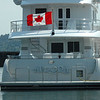 Nordhavn 86'.....Homeported in Ottawa, Ontario Canada<br /> <br /> Photographed in Anacortes Washington on June 9, 2009<br /> <br /> The name Aurora has been applied to 3 Nordhavns over the years, perhap the same owner, previously a N62 and an N76, currently named Inside Passage III
