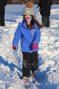 """It was a great afternoon for some cross """"Countryside"""" skiing! Thank you Countryside P.E. teachers!"""