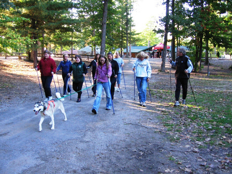 Nordic Walking at Timber Ridge Resort and Nordic Center