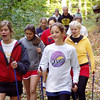 Glen Lake's Cross Country Running Team Cross Training With Nordic Walking Poles