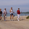 Nordic Walking Poles help to improve posture, balance, stability and like cross country skiing provides a full body workout