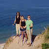 Nordic Ski Walking In The Sleeping Bear Dunes National Lakeshore