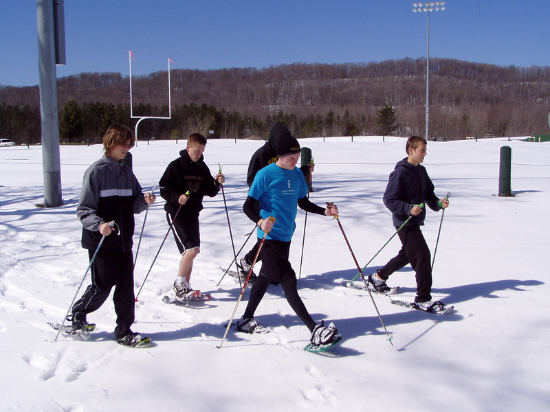 Nordic Walking and Nordic Snowshoeing are a great cross-trainer for runners