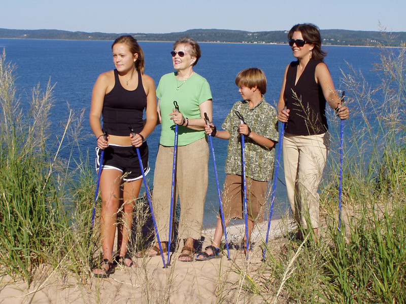 Nordic Walking is ideal for ALL ages and ALL fitness levels