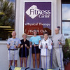 Edwards has hosted Nordic Walking Clinics at Fitness Centers all across the country