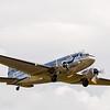 DC-3 takeoff