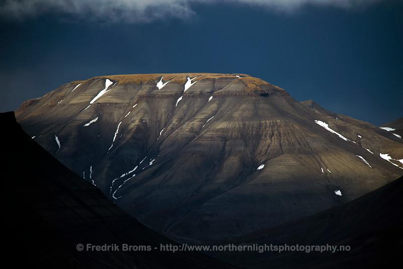Early Autumn Landscape on Svalbard
