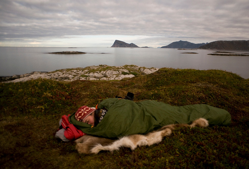 Sleeping under the Open Sky, Northern Norway