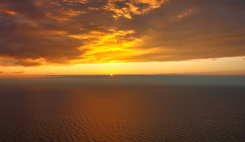 Βόρειο Ακρωτήριο. Aτενίζοντας τον ορίζοντα...