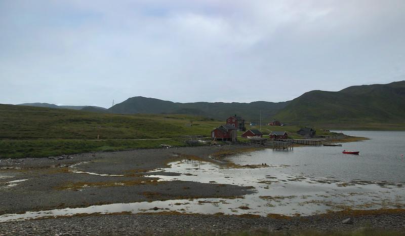 Βόρειο Ακρωτήριο. Στο νησί Magerøya