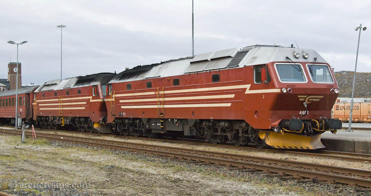NSB Di 4.651 4.653 Bodø st 2007-09-20 by TS