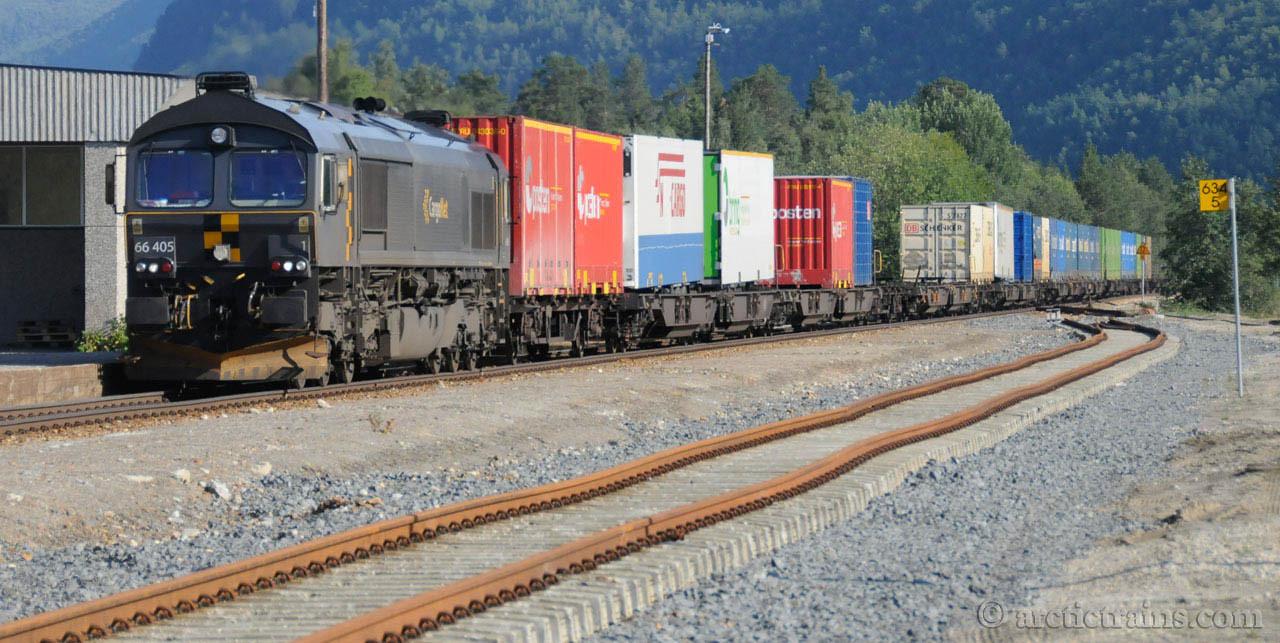 CargoNet CD 66.405 tog 5790 Røkland st Saltdal 2009-09-28 by TS