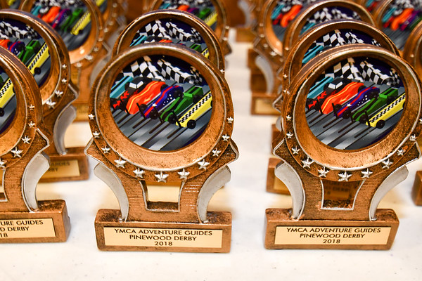 2018 Nordonia Adventure Guides Pinewood Derby