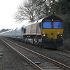 66083 passes Hargham Rd LC on 6L39 Mountsorrel - Trowse Yd 1/3/17