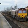 66151 on 6M58 Norwich TC - Peak Forest passes Eccles Rd 1/3/17