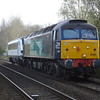 57007 + 82112 pass Hargham Rd LC on 5Z37 Norwich - Bounds Green. 5/4/17