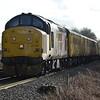 37175 / 37254 1Q98 Cambridge - Cambridge via East Anglia approaches Attleborough 2/3/17