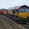 66024 arrives at Eccles Road with 6Z59 Dowlow - Eccles Rd Johnstons Sdgs. 7/4/17