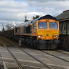 66715 hammers through Eccles Rd with 6M52 Norwich Trowse - Wellingborough 1/3/17