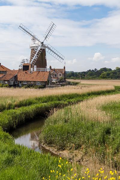 Cley Windmill portrait crop