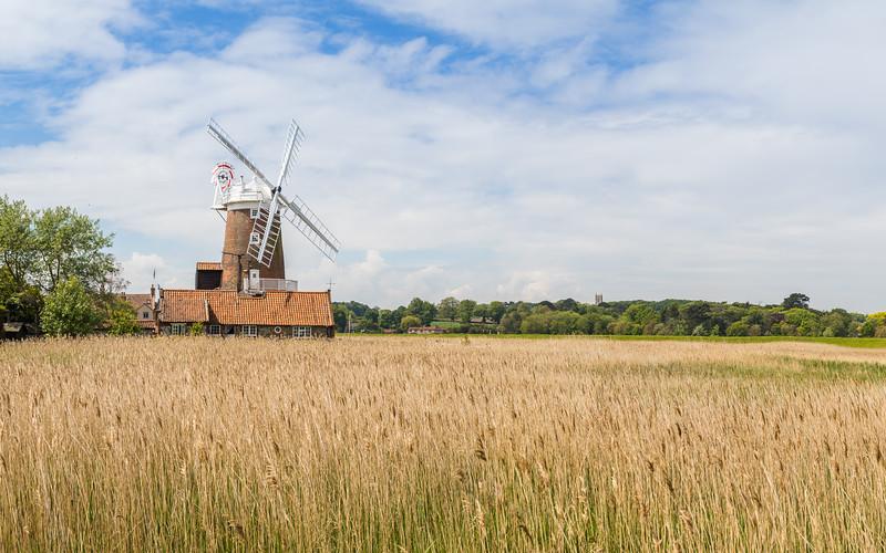 Cley Windmill panorama