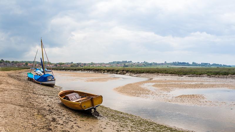 Blakeney panorama at low tide