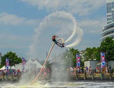 Harborfest Flyboard Demo