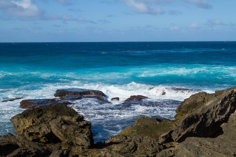 Churning oceans, Norfolk Island