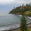 Ball Bay looking towards Collins Head, Norfolk Island