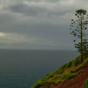 View over the ocean from Norfolk Island