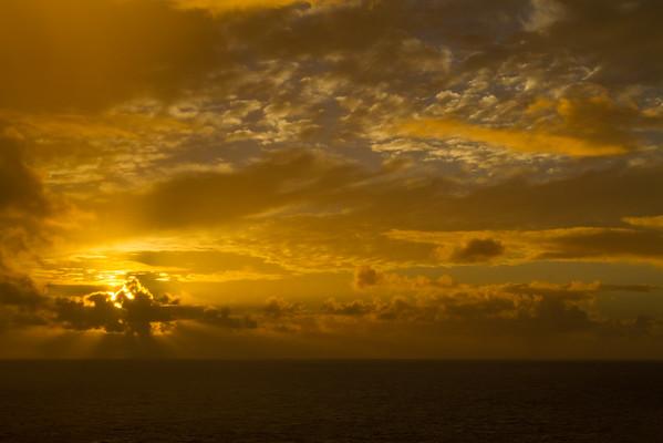 Sunset at Norfolk Island