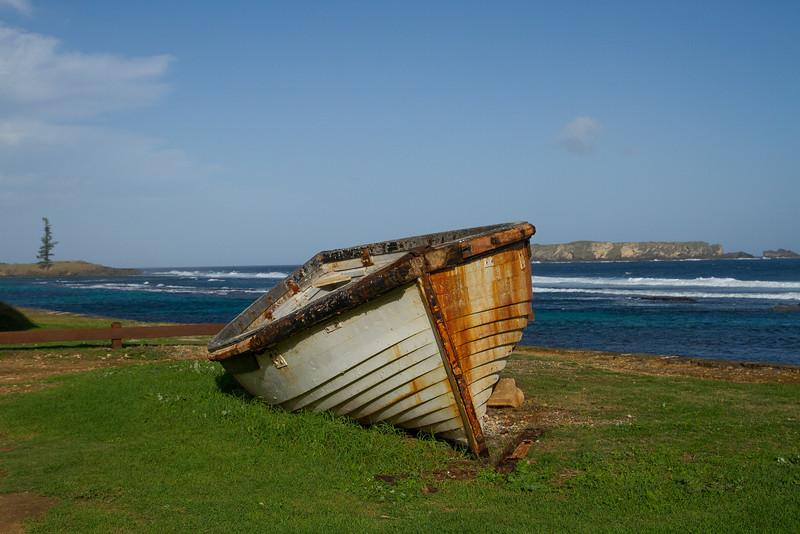 Old Lighter boat, Norfolk island