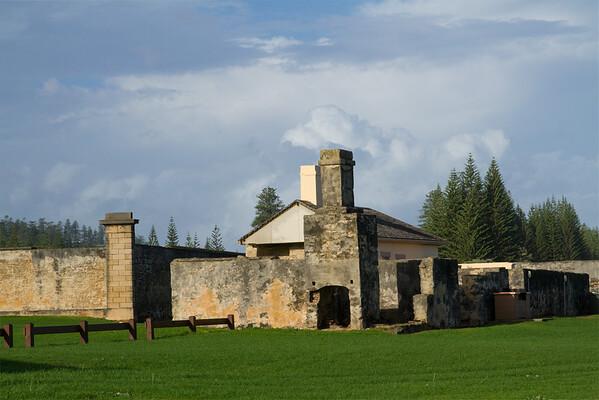 Ruins at Kingston, Norfolk Island